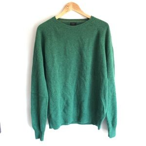 Jcrew 100% lambs wool long sleeve sweater